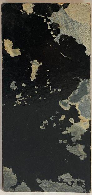 Hugo WEBER (1918-1971)  Le noir de tous les...