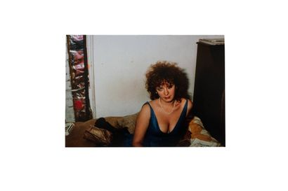 Nan GOLDIN (born 1953)  Self-portrait in...