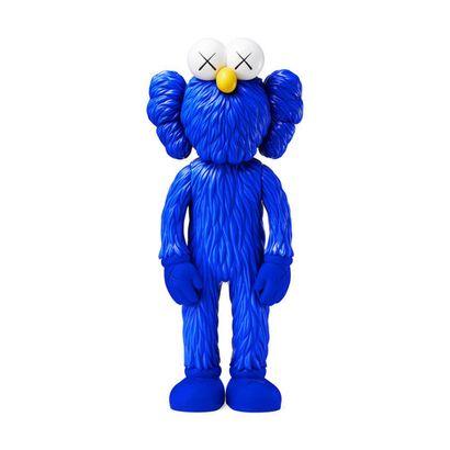 KAWS (born 1974)  BFF Blue (exclusive MoMa), 2017  Vinyl Sculpture in its original...