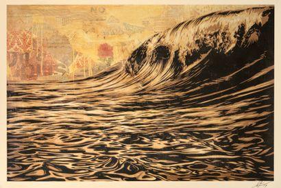 Shepard FAIREY (born in 1978)  Dark Wave...