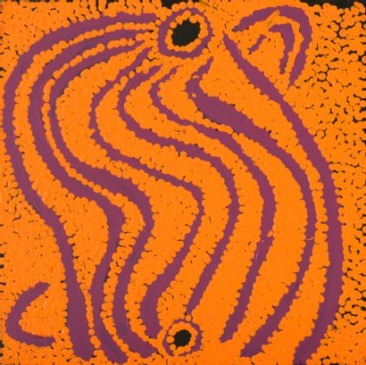 Liddy Walker Napanangka (c.1925/30 - 2017)...