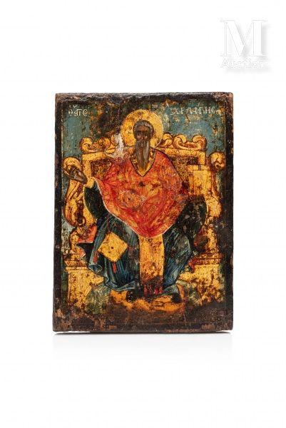 Icône de Saint Charalampe.