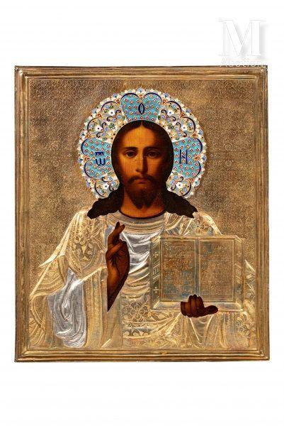 Icône du Christ Pantocrator.