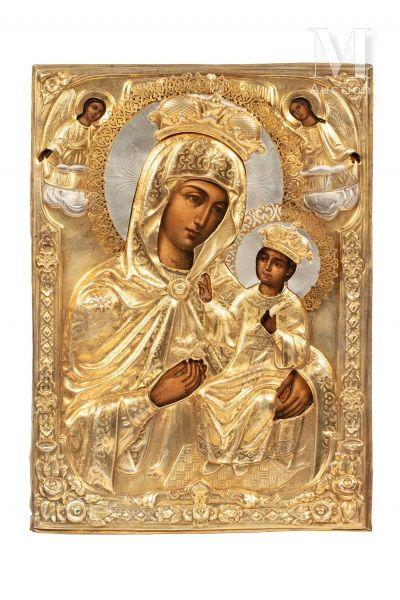 Icône de la Mère de Dieu «Rose Immarcescible».