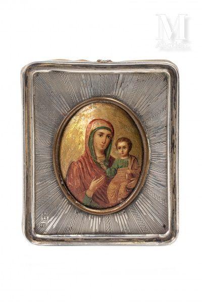 Icône de la Mère de Dieu de Tikhvine.
