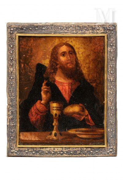 Icône du Christ Eucharistique.