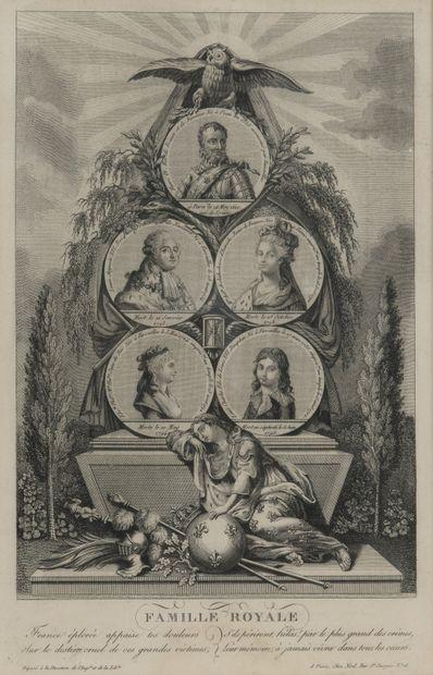 Famille royale de France.