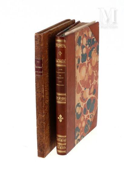 Lot de 2 ouvrages comprenant: