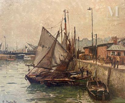 André Louis MESTRALLET (1874-1968)