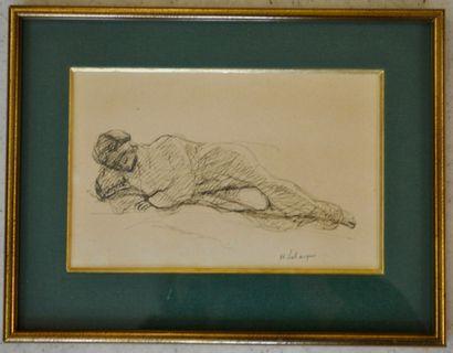 Henri LEBASQUE (Champigné 1865 - Le Cannet 1937)