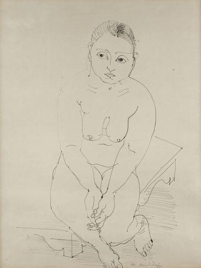 Raoul DUFY (Le Havre 1877 - Forcalquier 1953)