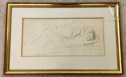 André DUNOYER DE SEGONZAC (Boussy Saint Antoine 1884 - Paris 1974)