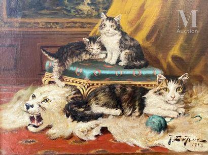 Jules Gustave  LEROY (Paris 1853 - 1922)