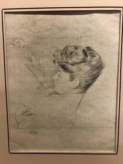 Paul César HELLEU (Vannes 1859 - Paris 1927)