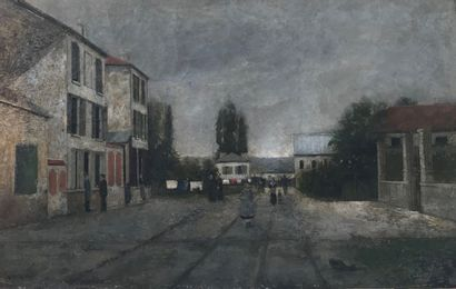 Ecole Française de la fin du XIXème siècle...