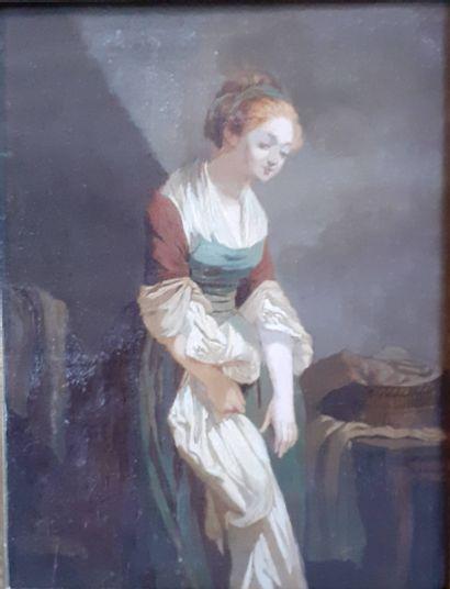 Ecole Francaise du milieu du XIXe siècle...