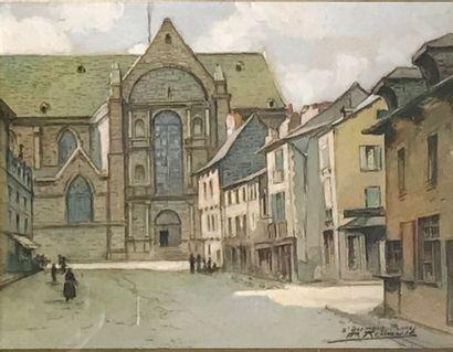 Émile A. MALO-RENAULT (1870-1938)  Saint...