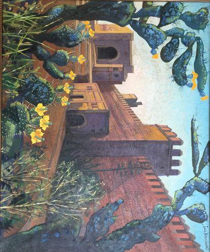 Louis BERNASCONI (1905-1987)  Porte des Oudaïas...