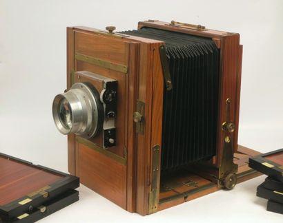 Chambre photographique  En bois 18 x 24 cm...