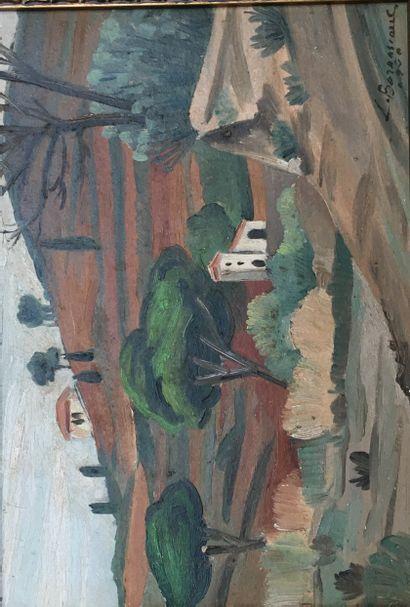 Louis BERNASCONI (1905-1987)  La montagne...