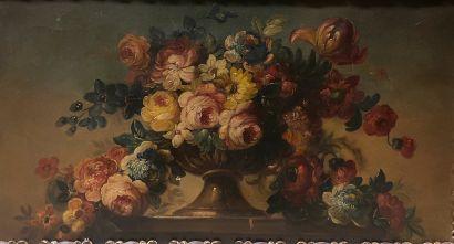 Ecole Française du XIXème siècle  Bouquet...