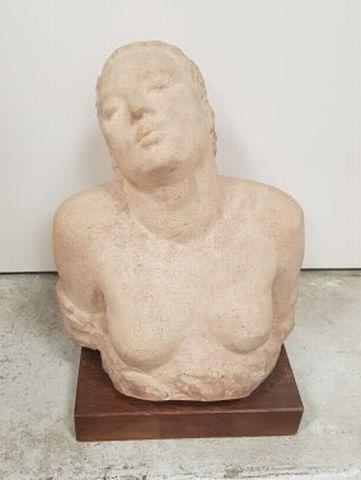 Robert WLERICK (1882-1944)  Terracotta sculpture...