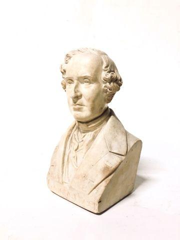 Jules CHARDIGNY (1842-1892)  Bust of G. Meyerbeer...
