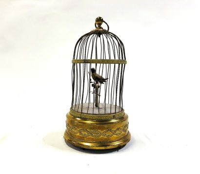Tundra bird  Brass birdcage for trapping...