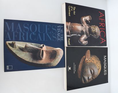 3 ouvrages :  AFRICA, the art of the continent...