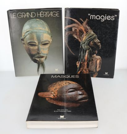"""3 ouvrages:  LE GRAND HERITAGE  """"MAGIES""""  MASQUES"""