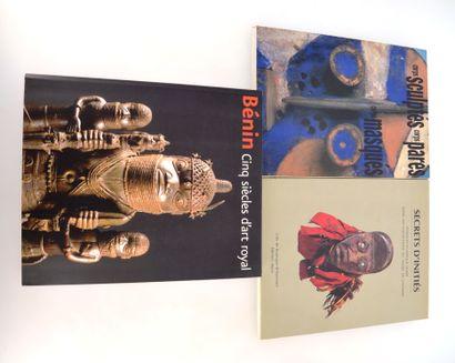 3 ouvrages:  CORPS SCULPTES, CORPS PARES, CORPS MASQUES  SECRETS D'INITIES : Masques...