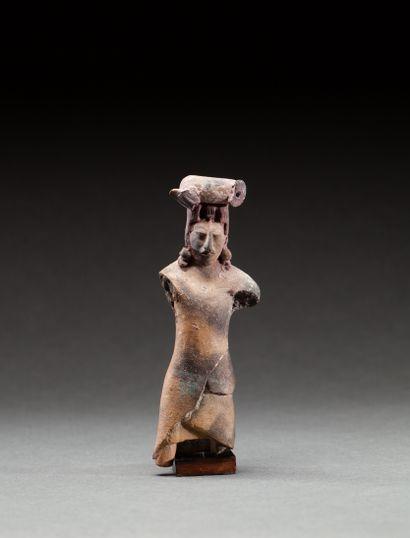 Ocarina cérémoniel  présentant un seigneur,...