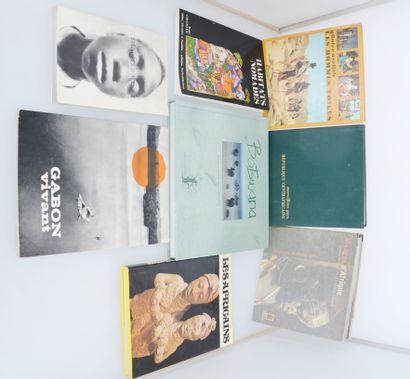 8 ouvrages:  NERLICH Gunter : LES HOMMES VOILES  MERVEILLEUX PAYS, république centrafrique...