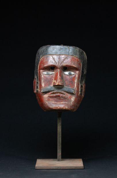 Masque de danse  villageoise « El Macho »...