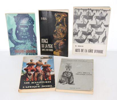 5 ouvrages:  MASQUES IVOIRIENS  IMAGE DE...