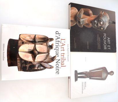 3 ouvrages:  ART ET POUVOIR: Dans la savane d'Afrique centrale  HAZAN : 5000 ans...