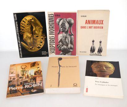 6 ouvrages:  MUSEES DES ARTS AFRICAINS ET OCEANIENS  SCULPTURES IVOIRIENNES  ANIMAUX...