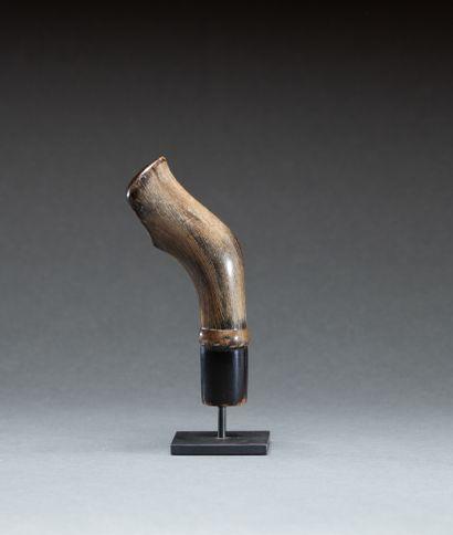 Poignée de sabre  en forme de patte de cervidé...