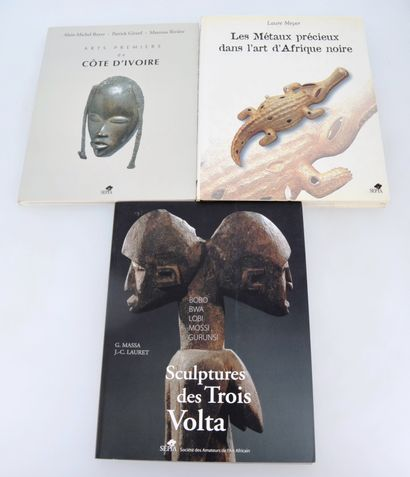 3 ouvrages:  BOYER Alain-Michel, GIRARD Patrick, RIVIERE Marceau: ARTS PREMIERS...