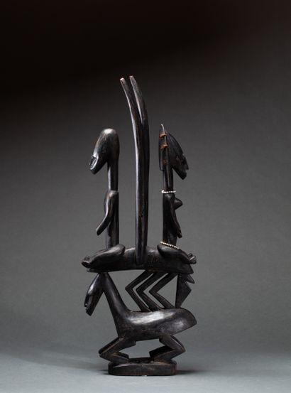 Antilope tji-wara  destinée à être portée...
