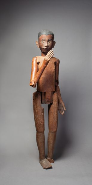 Deux figures ancestrales Tau-Tau  présentées...