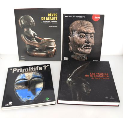 4 ouvrages:  RÊVES DE BEAUTE  PRIMITIFS?...