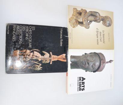 3 ouvrages:  LA MATERNITE DANS L'ART D'AFRIQUE...
