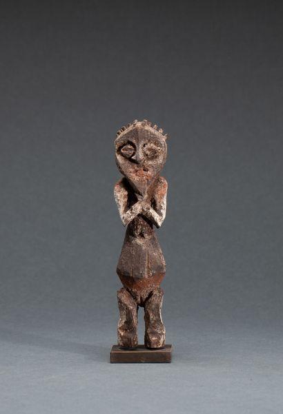 Statuette « Kiké »  au ventre démesuré symboliquement...