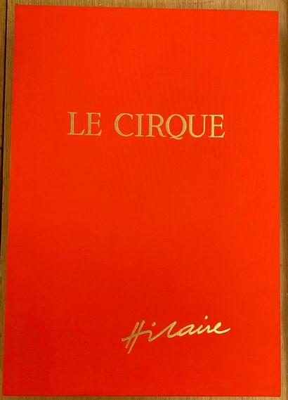 Camille HILAIRE (1916-2004)  Le cirque  Porte...