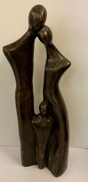 Ecole du Xxe siècle  La famille  Sculpture...