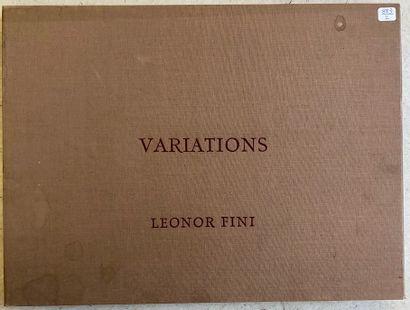 Léonor FINI (1908-1996)  Variations  Porte...