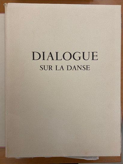 D'aorès Marie LAURENCIN   Pierre Louys dialogue...