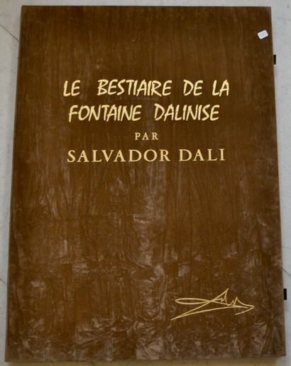 D'après Salvador DALI  Le bestiaire de la...