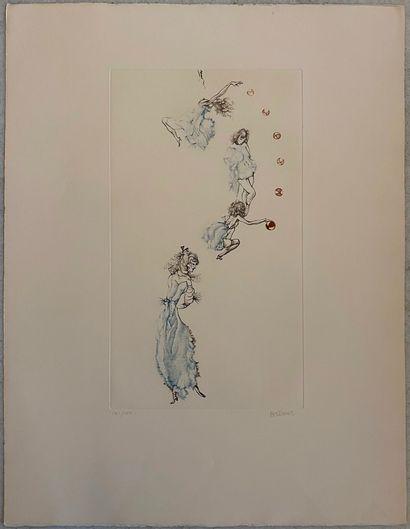 Hans BELLMER (1902-1975)  La danse  Lithographie...